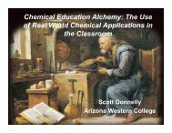 Chemistry Education Research and Practice - Azwestern - Arizona ...