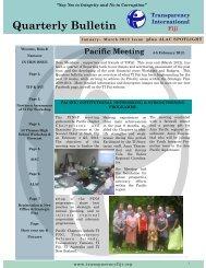 Jan-Mar 2012 - Transparency International Fiji