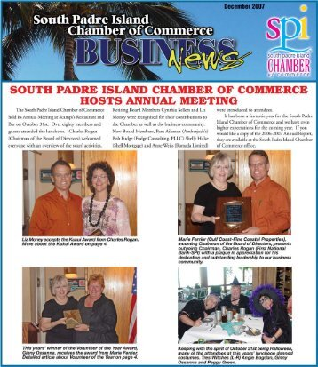 December 2007 - South Padre Island Chamber of Commerce