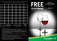 Free Glassware - Countdown