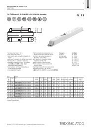 PCA EXCEL one4all 18-;58 W 220-;240 V 50/60/0 Hz, dimmable