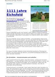 1111 Jahre Eichsfeld