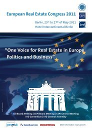 European Real Estate Congress 2011