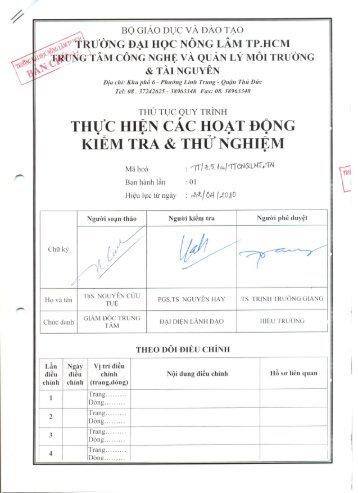 QT KIEM TRA CAC HD THU NGHIEM.pdf - trung tâm khảo thí và ...