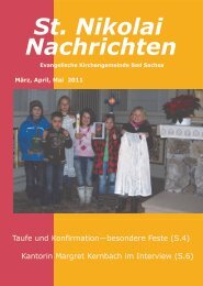 Nachrichten St. Nikolai - Startseite | Kirchengemeinde St. Nikolai ...