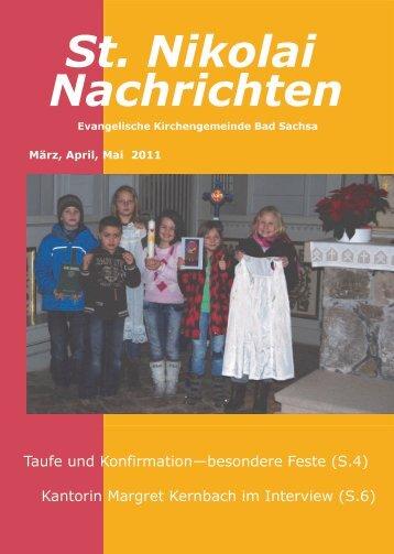 Nachrichten St. Nikolai - Startseite   Kirchengemeinde St. Nikolai ...