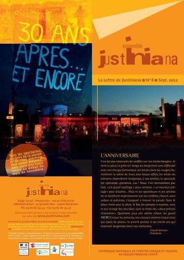 L'ANNIVERSAIRE - Ensemble Justiniana