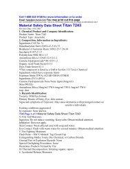 Material Safety Data Sheet Titan 7243