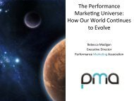 The Performance Marke$ng Universe - Affiliate Management Days