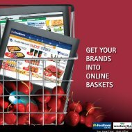 GET YOUR BRANDS INTO ONLINE BASKETS - Countdown