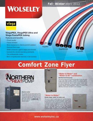 Comfort Zone Flyer - Wolseley Express