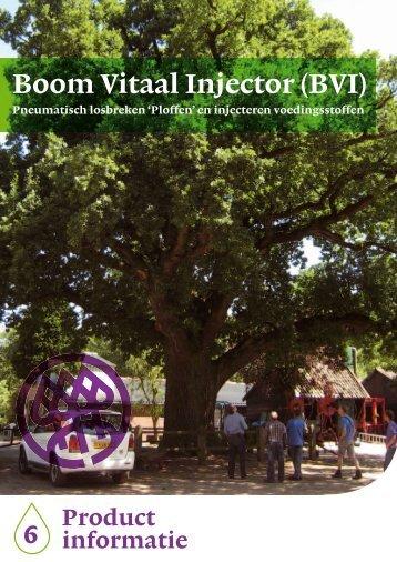Boom Vitaal Injector (BVI) - Nationale Bomenbank