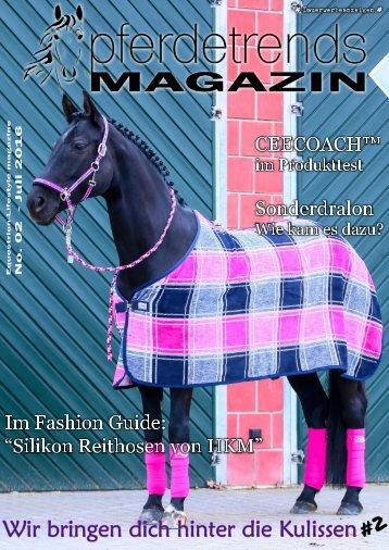 pferdetrendsMagazin No. 02 - Juni/Juli 2016