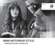BMW MOTORRAD STYLE.