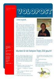Ausgabe 6 (PDF) - Deutscher Hockey Bund e.V.