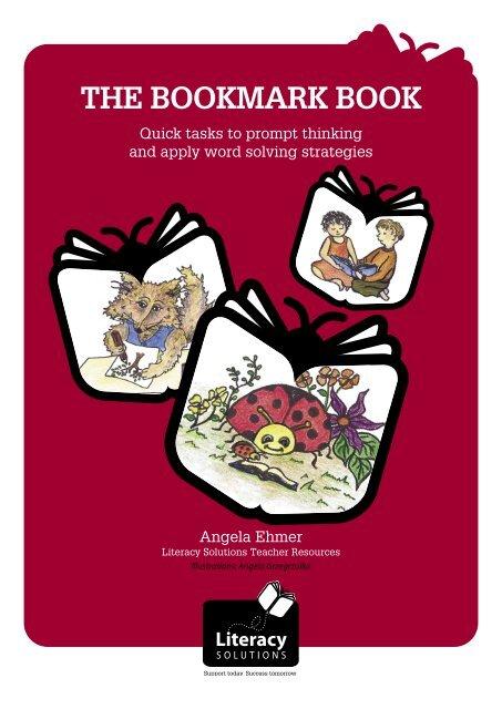The Bookmark Book - (Blackline Masters) (Part 1) - Literacy