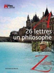 26 lettres et un Philosophe - K-Films Amérique