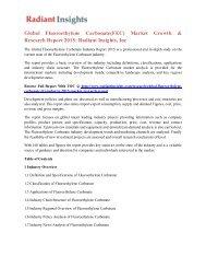 Global Fluoroethylene Carbonate(FEC) Market Growth & Research Report 2015 Radiant Insights, Inc.pdf