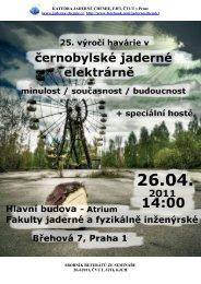 RBMK Reaktory – přednáška k semináři k 25 - KJCH