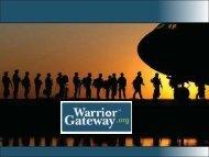 Warrior Gateway Slides