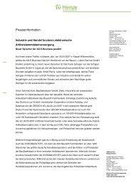 Industrie und Handel forcieren elektronische - BauDatenbank
