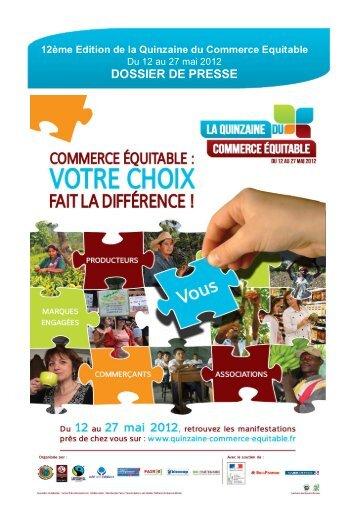 dossier_de_presse_qc.. - la Plate-Forme pour le Commerce Équitable