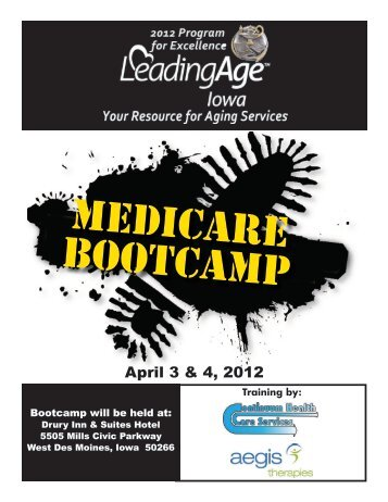 Medicare Bootcamp - Iowa Association of Homes & Services for the ...