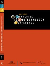 ninth annual charlotte biotechnology conference 2010
