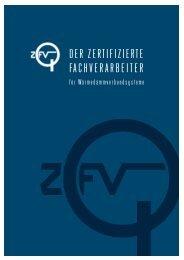 Folder Zertifizierter WDVS-Fachverarbeiter - Bauakademie Wien