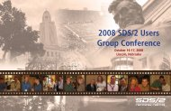 2008 SDS/2 Users Group Conference - Design Data