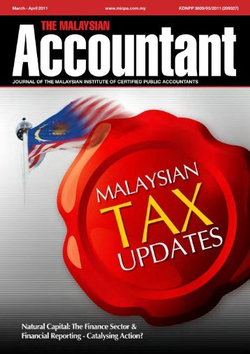 March - The Malaysian Institute Of Certified Public Accountants