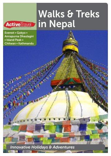 Online Brochure - Active Travel