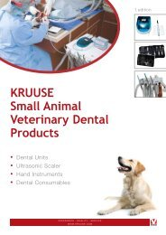 KRUUSE Small Animal Veterinary Dental Products - Front