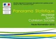Panorama statistique 2012 - DRJSCS