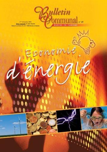 l'énergie - Marche-en-Famenne