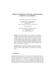 Multi-level Architecture on Web Services Based Policy Domain Use ...