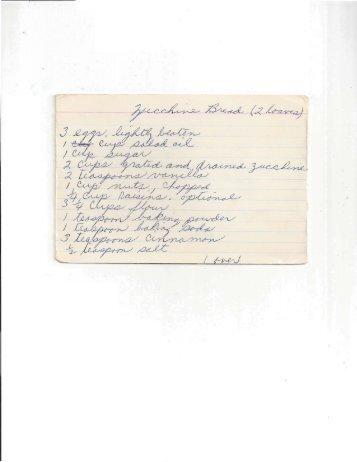 Grannys Recipes ACB 006