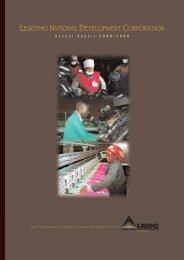 2008 / 2009 - Lesotho National Development Corporation