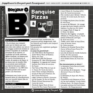 Banquise Pizzas - Averbode
