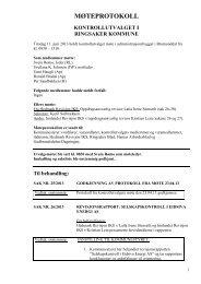 Moteprotokoll 11. juni 2013 - Ringsaker kommune