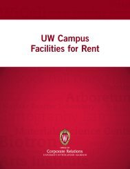 UW Campus Facilities for Rent - Office of Corporate Relations ...