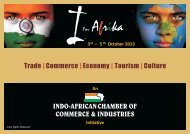 I for Afrika - Indo-African Chamber of Commerce & Industries