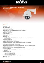 Day/Night Speed Dome IP Camera NVIP-DN6137SD