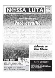 Jornal sticap outubro 2006.p65 - Sindicato dos Trabalhadores nas ...