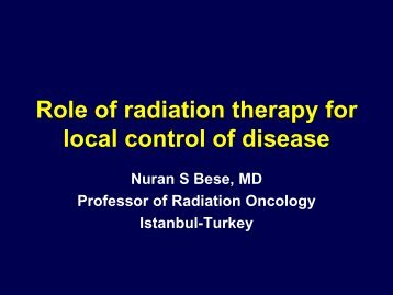 3.2-Radiation therapy (Bese) - Breast Health Global Initiative