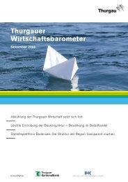 Thurgauer Wirtschaftsbarometer - Schweizer Bauwirtschaft