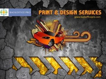 Print & Design Services