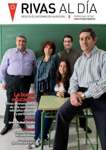 Rivas al Día número 107 enero 2012 - Ayuntamiento Rivas ...
