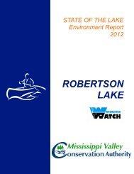 ROBERTSON LAKE - Mississippi Valley Conservation