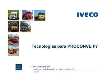 Tecnologias para PROCONVE P7 g p - Transporte Moderno